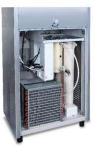 Water cooler with inbuilt purifier
